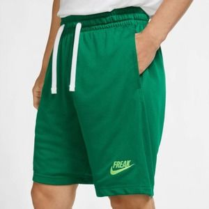 "🌲MNS B-BALL SHORTS ""ZOOM FREAK"" GIANNIS GRN Nike"